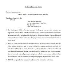 it business proposal 30 business proposal templates proposal letter samples