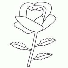 Rose Da Colorare Per Bambini Fredrotgans