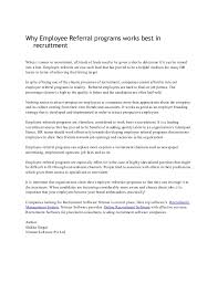Why Employee Referral Programs Works Best In Recruitment