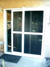 cat door window with built in pet sash for insert sliding dog glass installation sydney
