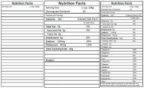 nutrition facts label template step 2 nutrition facts label maker free software