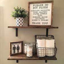 best 25 half bathroom decor ideas on half farmhouse bathroom wall