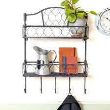 decorative metal wall shelf garage wall shelves large size of wall mounted shelving metal wall rectangle