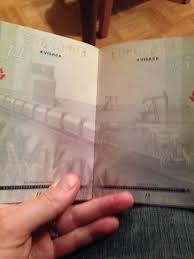 New Canadian Passport Design Black Light And The New Canadian Passport Album On Imgur