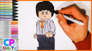 Lego Harry Potter Coloring Pages Part 1 Harry Potter Coloring