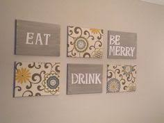 eat drink and be merry canvases totally nailed it took some time but on food and drink wall art with eat drink be merry wall art canvas or prints charcoal gray kitchen