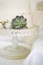 Decorative Cake Stands Metal Cake Stand White 16in