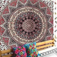 small size of rug wall hanging kits rug wall hanging hardware bohemian indian mandala tapestry 220x140cm