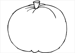 View and print full size. 9 Pumpkin Coloring Pages Jpg Ai Illustrator Download Free Premium Templates