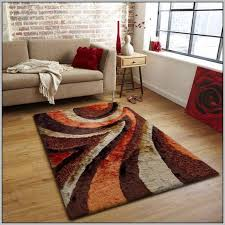 Burnt Orange And Brown Living Room Property Simple Design Inspiration