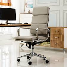 High office desk Table Ebern Designs Wickham Contemporary Highback Office Desk Chair Reviews Wayfair Wayfair Ebern Designs Wickham Contemporary Highback Office Desk Chair