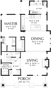 European Style House Plan 3 Beds 2 00 Baths 2000 Sqft 45 136 Bed