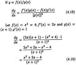 8 Rules For Finding Derivative Of A Function With One Independent