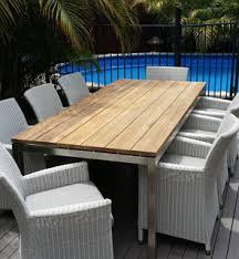 outdoor wood dining furniture. Teak Outdoor Settings Wood Dining Furniture