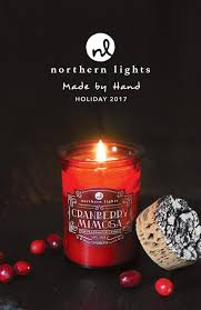 Northern Lights White Pumpkin Candle 2017 Northern Lights Holiday Catalog By Northern Lights
