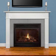 fireplace mantels. Item 3 Pearl Mantels 520-48 48-inch Wide Berkley MDF Fireplace Mantel In White Finish -Pearl