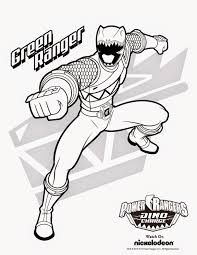 Power Ranger Coloring Pages Printable 28 Collection Of Rangers Dino