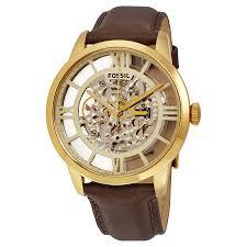 fossil townsman transparent dial automatic men s watch me3043