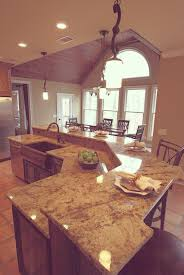 Kitchen Breakfast Bar Island Granite Kitchen Island With Breakfast Bar