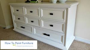 painting furnitureHow To Paint Furniture  YouTube