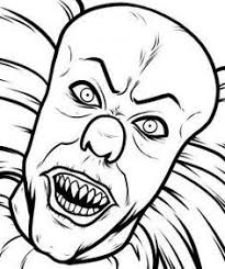 How To Draw Pennywise Step 8 When Everything Is All Cleaned Up