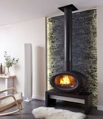 Chazelles wood metal fireplaces