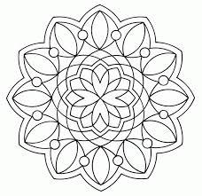Gratis Mandala Kleurplaten Voor Kinderen 1