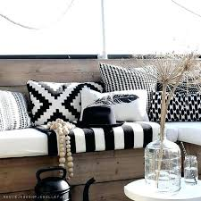 black and white striped outdoor pillows decoration black and white cabana stripe outdoor pillows designs with