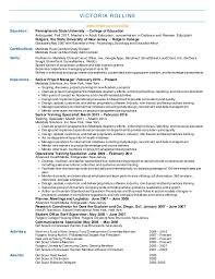Rutgers Resume Builder Beauteous Victoria Rollins Medidata Resume 484848