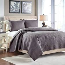 Grey Quilts King – co-nnect.me & ... Croscill Crestwood Grey Quilt Full Queen Grey Super King Quilt Cover  Grey Cotton King Size Duvet ... Adamdwight.com