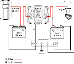 dual battery isolator wiring diagram for incredible carlplant in rv battery isolator relay solenoid at Rv Battery Isolator Diagram