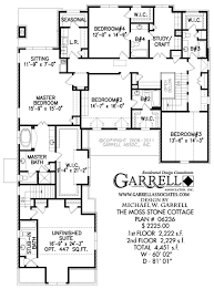 moss stone cottage house plan 06236 2nd floor plan