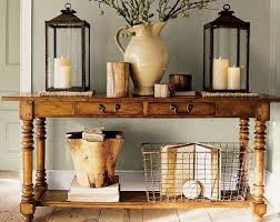 sofa table decor pottery barn. I\u0027m In Love With Wire Baskets These Days- Knee Wall The Front Sofa Table Decor Pottery Barn