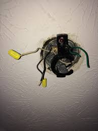 electrical ceiling fan light installation cant get wiring within replace ceiling fan with light fixture