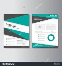 green brochure a flyer leaflet template set for marketing and green brochure a4 flyer leaflet template set for marketing and advertising
