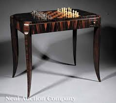 art moderne furniture. an art moderne palissandre and burr thuyawood games table c 192530 furniture r