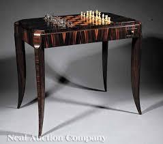 art moderne furniture. an art moderne palissandre and burr thuyawood games table c 192530 furniture r