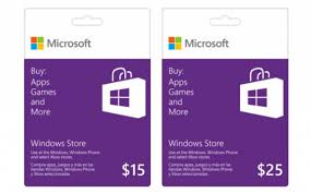 Microsoft Giftcard Buy Microsoft Windows Store Gift Card Information Technology