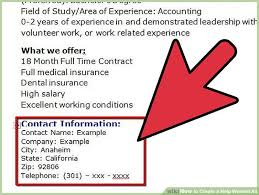 Newspaper Advertising Contract Template How To Create A Help Wanted Ad 5 Steps With Pictures