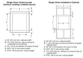 plans to build a wall oven cabinet