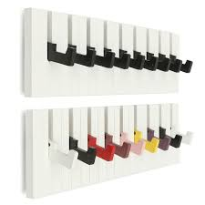 Coat And Hat Rack With Shelf Wooden 100 Hooks Piano Design Wall Mounted Coat Modern Hat Storage 93