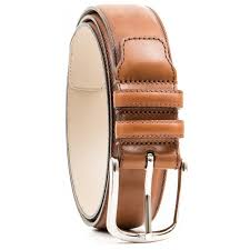 belt in light brown leather maximize belt