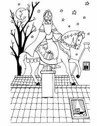 Kleurplaten Sint En Piet En Paard