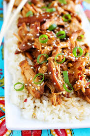 Asian chicken crock pot