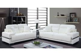 monaco modern white leather sofa set jpg