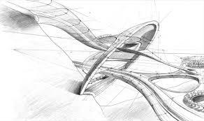 architectural sketch 6 potra mihai architecture