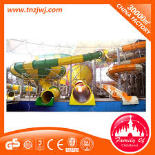 china large entertainment playground water park fiberglass water slide for funny china water slide water park