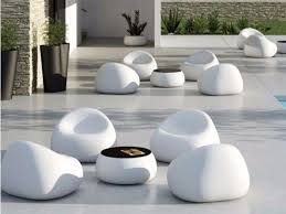 resin garden armchair gumball armchair