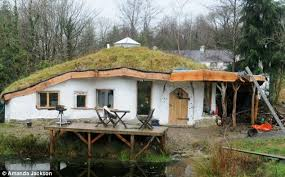 Pull down your Hobbit home  couple told      Eco house made from    Charlie Hague and Megan Williams could have to pull their eco house down after building