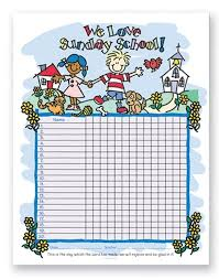 Sunday School Attendance Chart Free Printable Attendance Clipart Attendance Chart Attendance Attendance